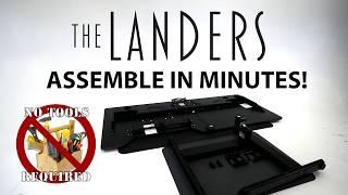 Lander Desk Assembly