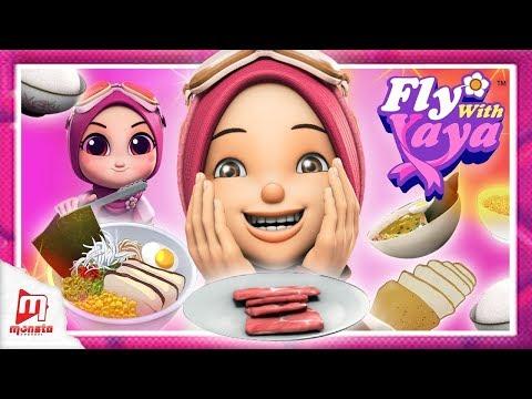 Fly With Yaya - Makanan Halal di Jepun! / Halal Food in Japan! (Malay/ENG/JP captions) - Thời lượng: 3 phút, 42 giây.