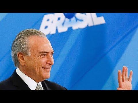 Βραζιλία: Πρώτο βήμα για την παραπομπή Τέμερ σε δίκη