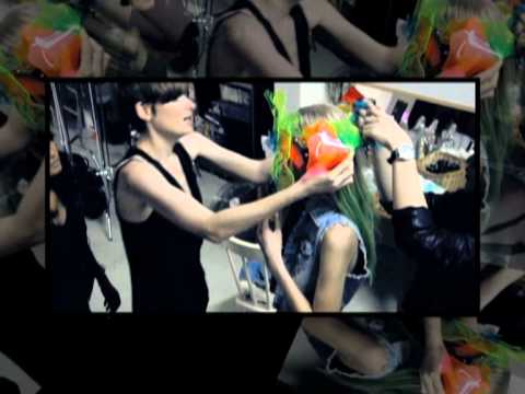CATALOG TV: Behind the Scenes, Fashion Spread, April 2012