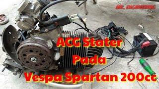 Video Vespa Spartan 200cc Pakai ACG Stater - Mengaplikasikan System ACG Stater dan langkah-langkahnya MP3, 3GP, MP4, WEBM, AVI, FLV Desember 2018