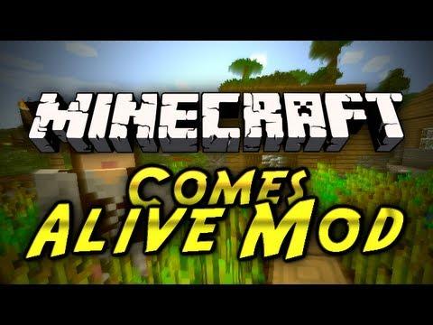 Minecraft Mod Showcases - Minecraft Comes Alive Mod!