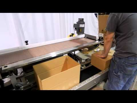 E2500 Ergomatic with 3M-Matic Case Sealer Hand Pack Station