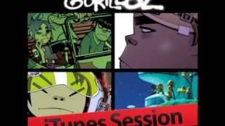 Gorillaz' Interview with 2-D & Murdoc (iTunes Session) - Part 1/3