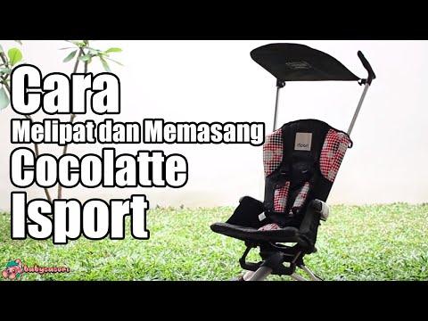 Cara Melipat dan Memasang Stroller Cocolatte Isport | babysasori