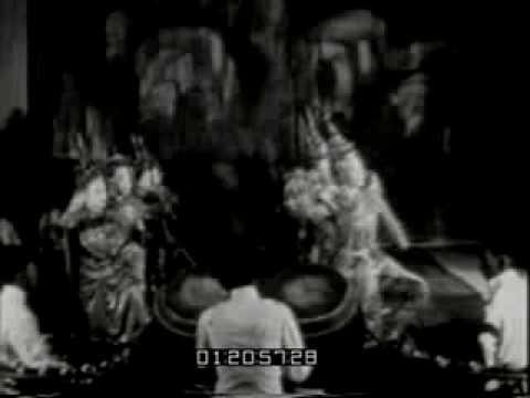 Old Thai Dance in Theatre 1929