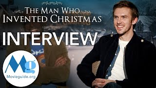 Nonton THE MAN WHO INVENTED CHRISTMAS Interview: Dan Stevens and Bharat Nalluri Film Subtitle Indonesia Streaming Movie Download