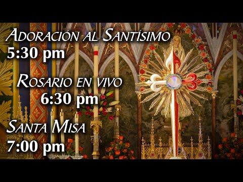Rosario y Santa Misa 17/9/2020 5:30 pm