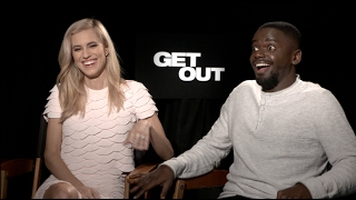 Video GET OUT interviews - Jordan Peele, Allison Williams, Daniel Kaluuya MP3, 3GP, MP4, WEBM, AVI, FLV Juli 2018