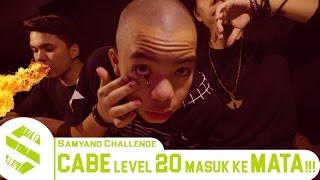 Video SAMYANG CHALLENGE INDONESIA - CABE LEVEL 20 MASUK KE MATA!!! MP3, 3GP, MP4, WEBM, AVI, FLV Juni 2017
