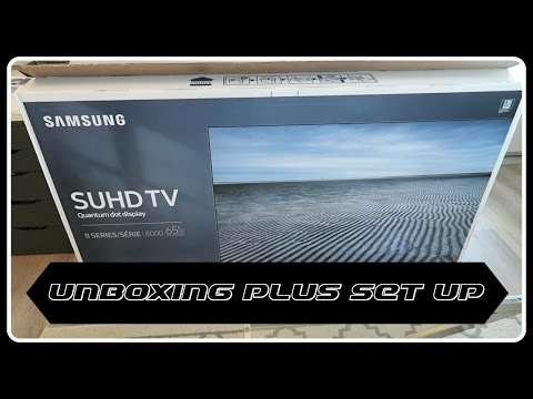 Видео Телевизор LED Samsung UE65KS8005
