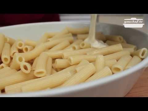 pasta gratinata ai quattro formaggi