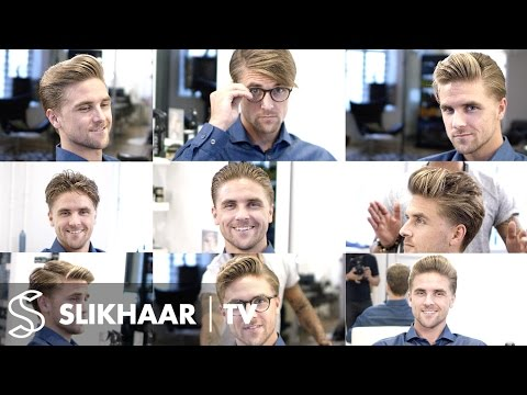 9 different hairstyles in 1 haircut ★ Men's hairstyling inspiration