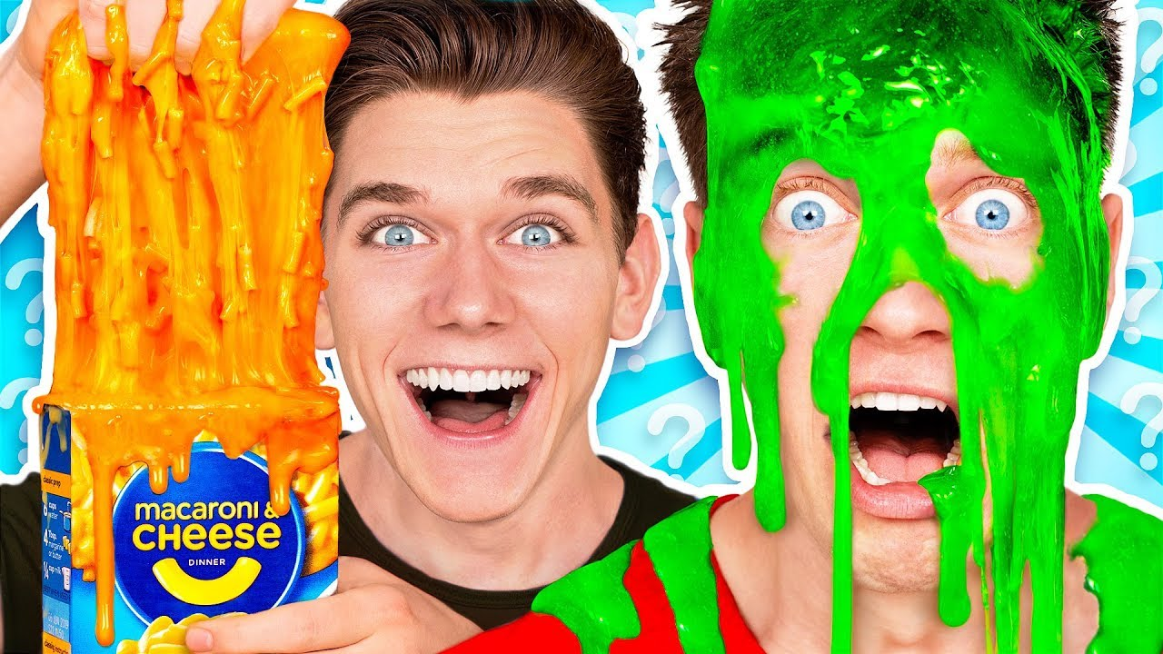 Mystery Wheel of Slime Challenge 2 w/ Funny Satisfying DIY How To Switch Up Game - YouTube