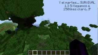 Minecraft Map Review, Floating Island [Español]