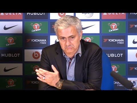 Chelsea 1-0 Manchester United - Jose Mourinho Post Match Press Conference - Premier League (видео)