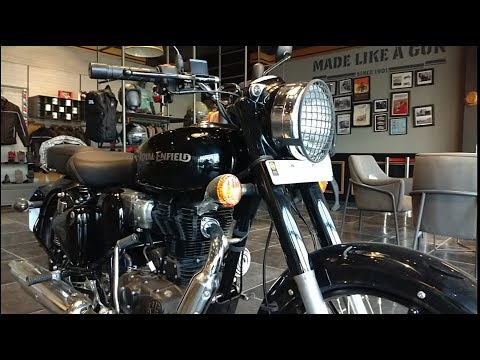 2020 BS6 Royal Enfield Pure Black l Classic 350S