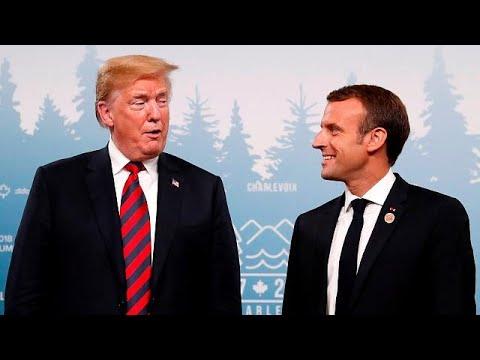 Καναδάς – G7: «Συμφιλίωση» Μακρόν – Τραμπ