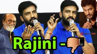 "Video ""Rajini அரசியல் வருகையை கலாய்த்த Santhanam"" - Rajini Political Entry 