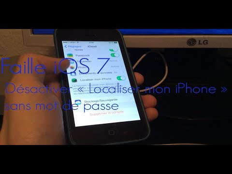 comment localiser sur iphone