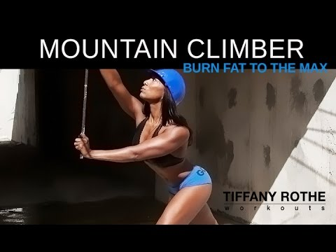 10 Minute Mountain Climber workout, Burn Fat to the Max!\u200b\u200b\u200b | TiffanyRotheWorkouts\u200b\u200b\u200b (видео)