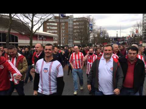 Sunderland - This video is about Sunderland supporters epic weekend at the Capital One Cup Final. Thanks to the members of Ready To Go forum for their contributions to th...