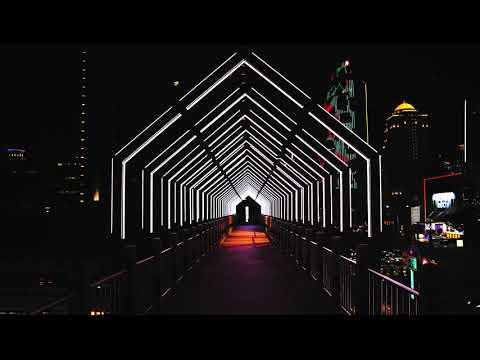 光廊聖塔 閃亮點燈