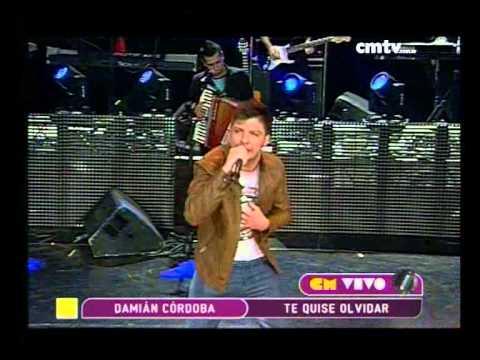 Damián Córdoba video Te quise olvidar - CM Vivo 2014