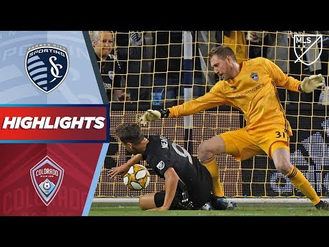 Video: Sporting Kansas City vs. Colorado Rapids | VAR! Red card! Stunning bicycle kick! | HIGHLIGHTS