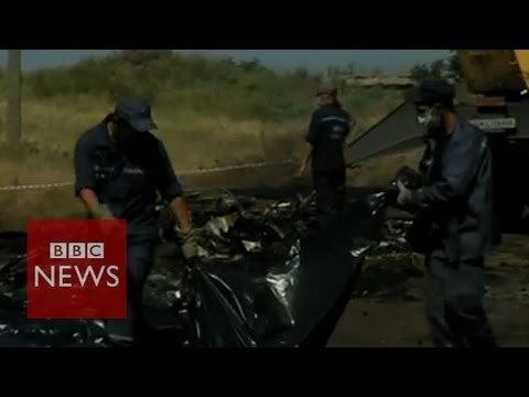 BBC reporter given Ukraine crash victim's wallet - BBC News