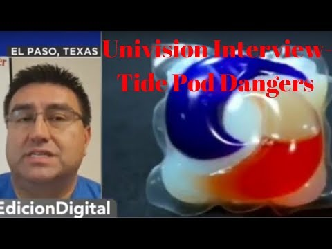 💀El Peligro Comer cápsulas de detergente-Tide Pod Challenge Danger-Salvador Baeza Pharm D I