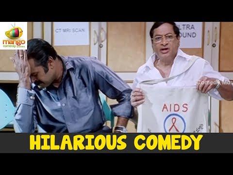 MS Narayana Best Comedy Scene | Meri Shapath Hindi Film | Hindi Comedy Videos | Mango Comedy Scenes