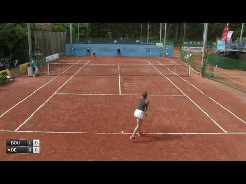 Boulais Isabelle v De Bernardi Clothilde - 2017 ITF Marseille