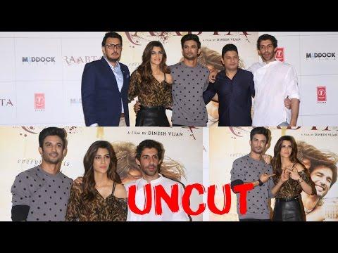 UNCUT: Trailer Launch Film Raabta | Sushant Singh Rajput | Kriti Sanon