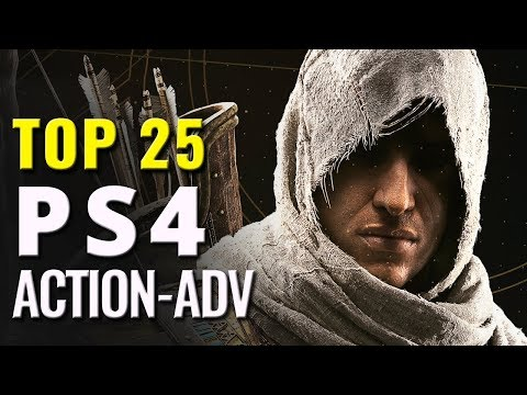 Top 25 Best PS4 Action Adventure Games