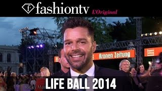 Life Ball 2014 with Maria Mogzolova, feat Ricky Martin, Bill Clinton, Vivenne Westwood | FashionTV