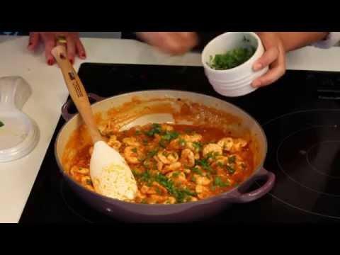 Camarão no Casa e Cia na Cozinha com Vanessa Faller e Maíra Queiroz