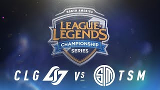 Video CLG vs. TSM - Week 9 Day 2 | NA LCS Spring Split | Counter Logic Gaming vs. TSM (2018) MP3, 3GP, MP4, WEBM, AVI, FLV Juni 2018
