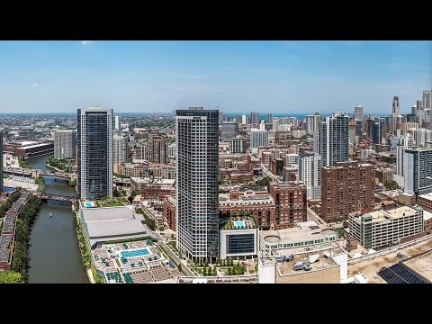 Tour a bright, spacious penthouse at the new Wolf Point West apartments