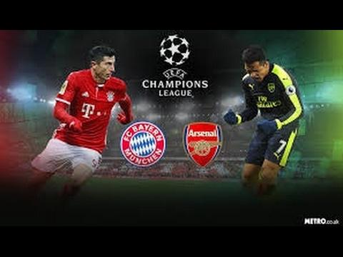 Bayern Munich vs Arsenal 5 1 2017   Thomas Muller Goal  Champions League  15 02 2017 HD