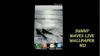 Sunny Waves Live Wallpaper HD YouTube video