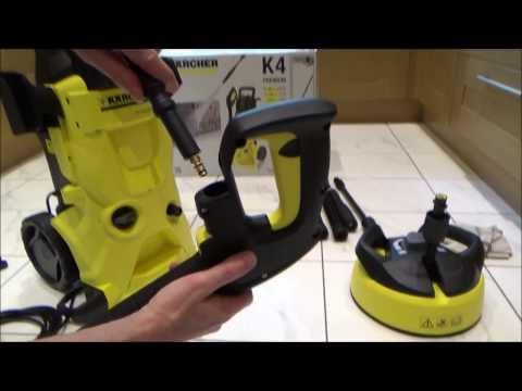 Complete Setup: KARCHER K4 Premium Pressure Washer