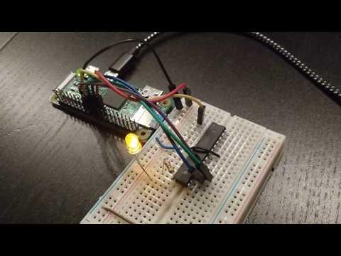 ATmega 328 programmed via Raspberry Pi