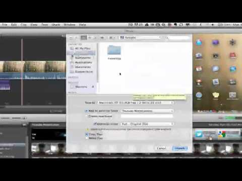 Importing - iMovie Tutorial - How To Import Video Into iMovie In This video tutorial I show you how to import video into iMovie. If this video helped you go ahead and LI...