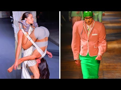 Crazy Trends The Fashion Industry Has Up Its Sleeve  Funny Pictures