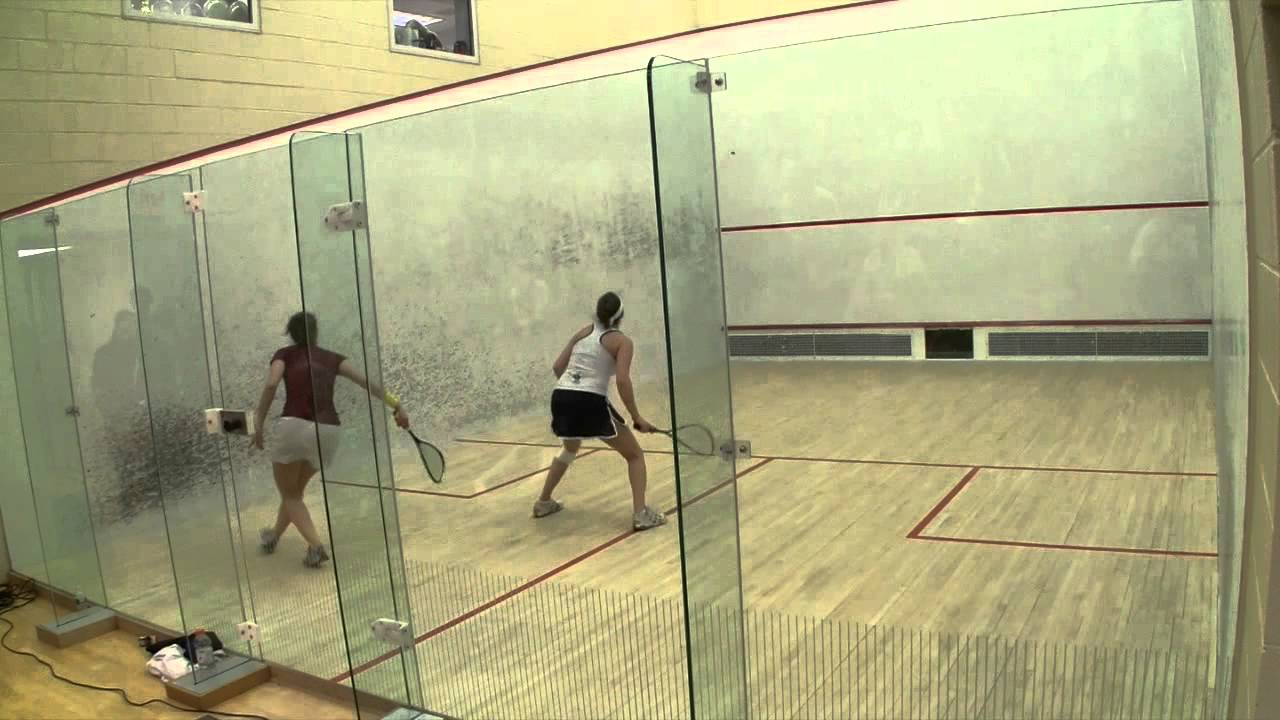 Women's College Squash – 2014 National Team Championships: Trinity and Harvard #2s Game 3 and 4