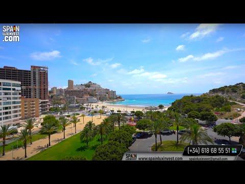 Новая квартира у моря в Испании/Недвижимость в Бенидорме для сдачи в аренду и отдыха/Бухта Ла Кала
