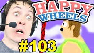 Happy Wheels - TOO FAT FOR ROPE SWING