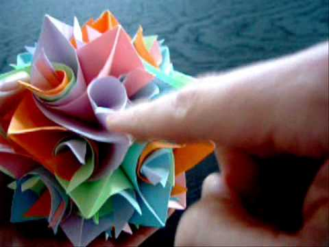 How to make an Origami Icosidodecahedron