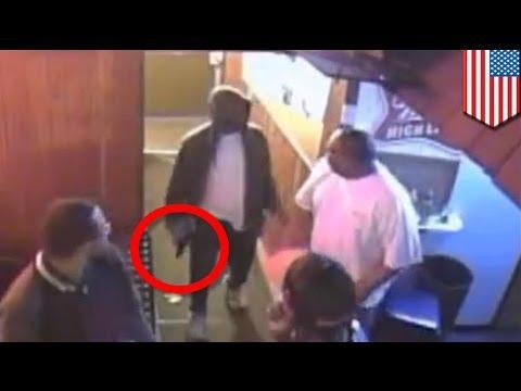 Bouncer disarms gunman